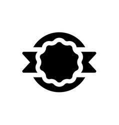 Achievement badge icon vector