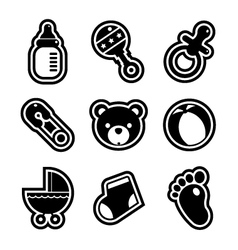 Bashower icons vector