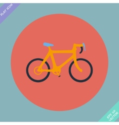 Bicycle icon - vector image