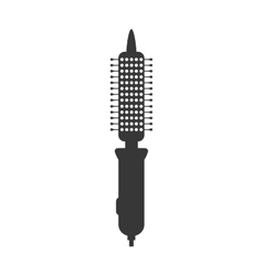 Brush icon Hair salon and barber shop design vector