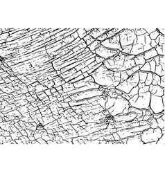 Cracked texture cracks and scratches vector