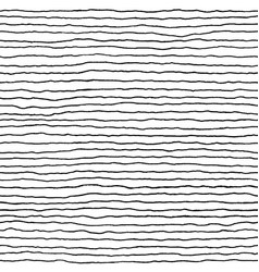hand drawn striped background monochrome seamless vector image