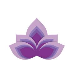 Lotus flower symbol royalty free vector image vectorstock mightylinksfo