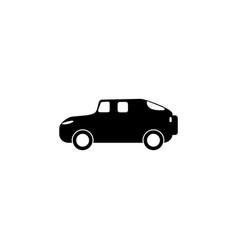 suv car icon element of popular car icon premium vector image
