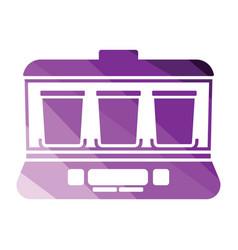 yogurt maker machine icon vector image