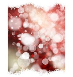 Festive defocused lights EPS 10 vector image