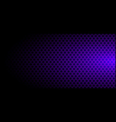 banner template abstract black circles pattern vector image