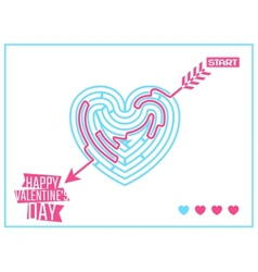 Concept of Happy Valentines Day greeting or vector