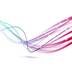Fast rapid speed connection abstract lines vector