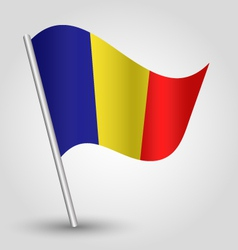 flag chad vector image vector image