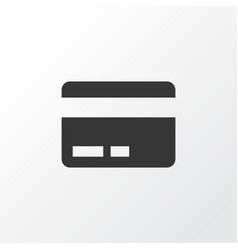 payment icon symbol premium quality isolated card vector image