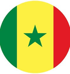 Senegal flag vector image
