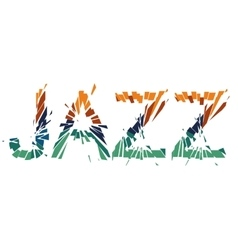 The Jazz vector image