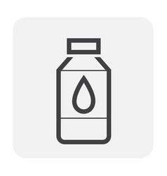 water icon black vector image