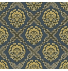 Baroque Seamless Pattern4 vector image vector image