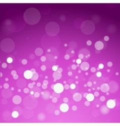 glowing lights abstract background vector image vector image