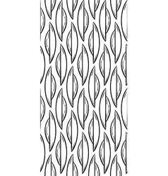 Abstract sketch seamless pattern vector