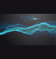 Blue abstract technology background data vector