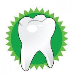 brush teeth vector image