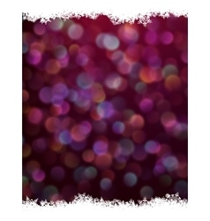 Festive defocused lights EPS 10 vector