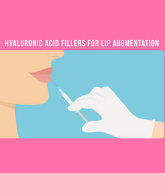Lip augmentation effects vector