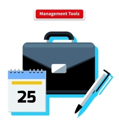 Management Tools vector
