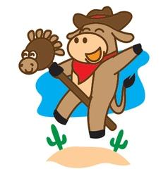 Play Cow vector