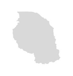 tanzania country map tanzanian nation vector image