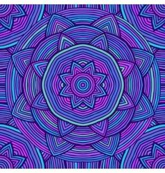 Blue Ethnic Pattern vector image