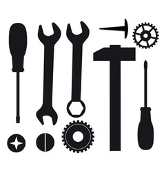 A set of tools vector