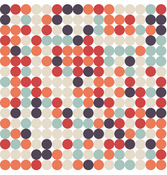 abstract retro vintage seamless pattern background vector image