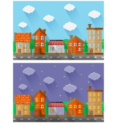 City landscapes vector image