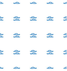 flip flops icon pattern seamless white background vector image