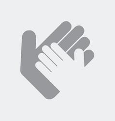 hands in gesture of help vector image