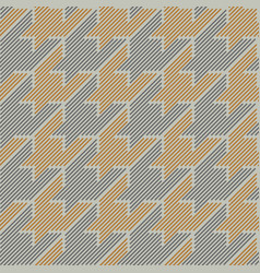 Houndstooth lines vector