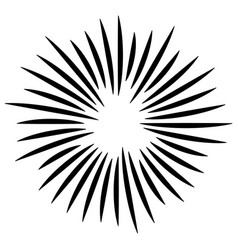 Radial lines abstract geometric element spokes vector