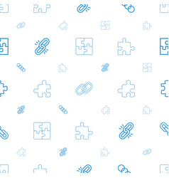 togetherness icons pattern seamless white vector image