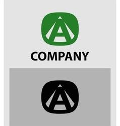 A Letter Logo Icon Design template Element vector image