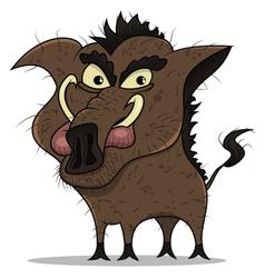 old boar vector image vector image