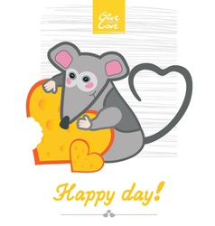 Day mouse vector