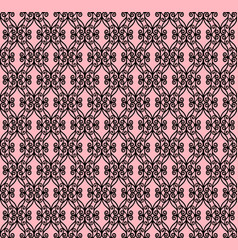 decorative openwork pattern vector image