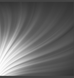grey wave blurred background glowing pattern vector image