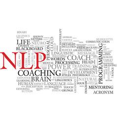 Nlp word cloud concept vector
