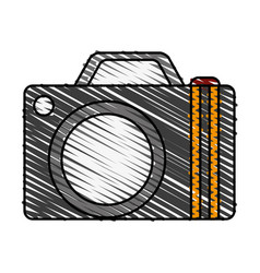 camera travel and tourism symbol vector image vector image