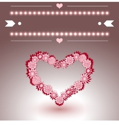 Empty Greeting Card with text-space vector image