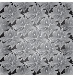 Sketchy doodles decorative filigree ornament vector image