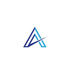 a letter symbol vector image