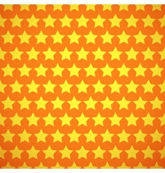 Baby different seamless pattern Orange and vector image