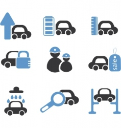 cars signs vector image