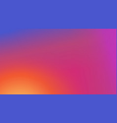 colorful modern fresh gradient background vector image